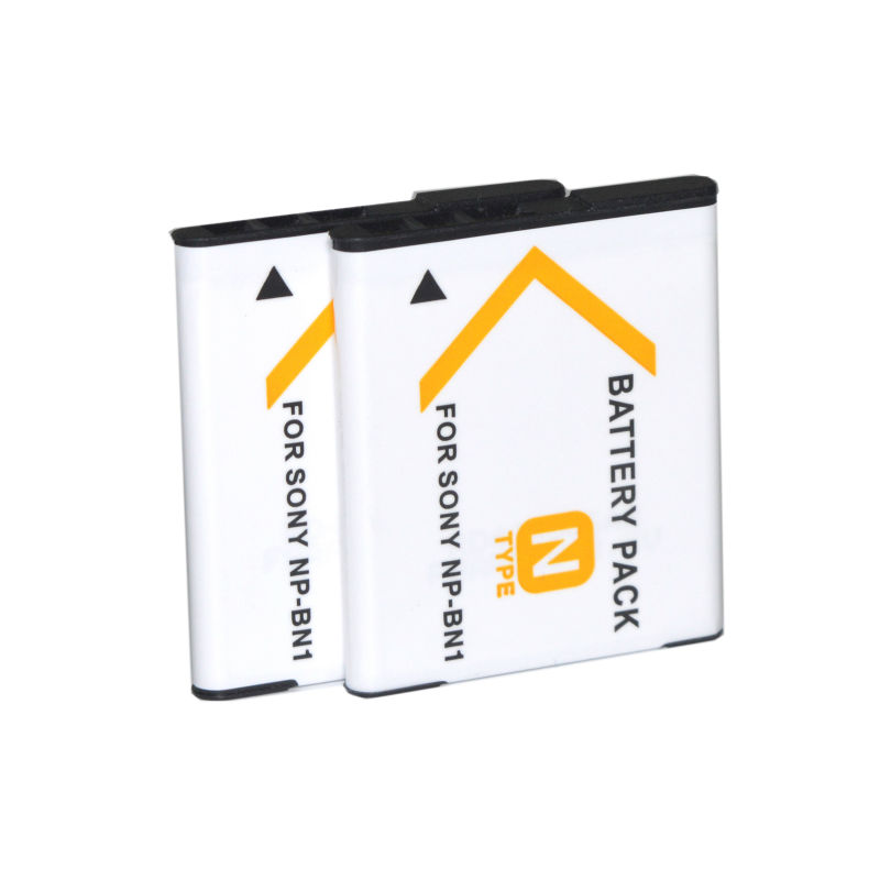 CONENSET 2PC Rechargeable Battery for Sony DSC W710 DSC W730 DSC W800 DSC W810 DSC W830