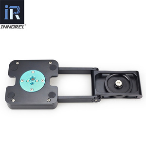 Image 3 - ZH5 Z type tilt tripod head Flex folding Z pan for Canon Nikon Sony DSLR camera Aluminum alloy Top quality All metal CNC tech