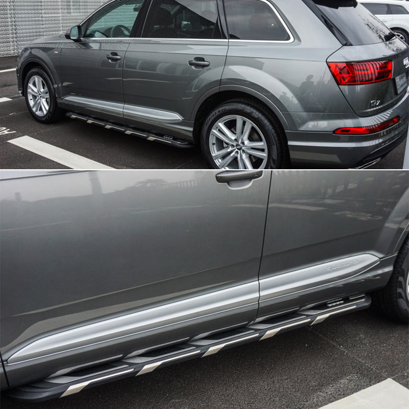 world premiere running board side step nerf bar fit for audi q7 2016 rh aliexpress com 2011 Audi Q7 Owner's Manual 2014 Audi Q7 Owner's Manual