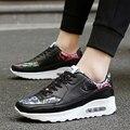 2017 Весна/Осень Обувь Высокого Качества для Женщин Роскошные Фирменные Повседневная Воздуха Спортивная Обувь Любителей Обувь Zapatillas Deportivas Mujer