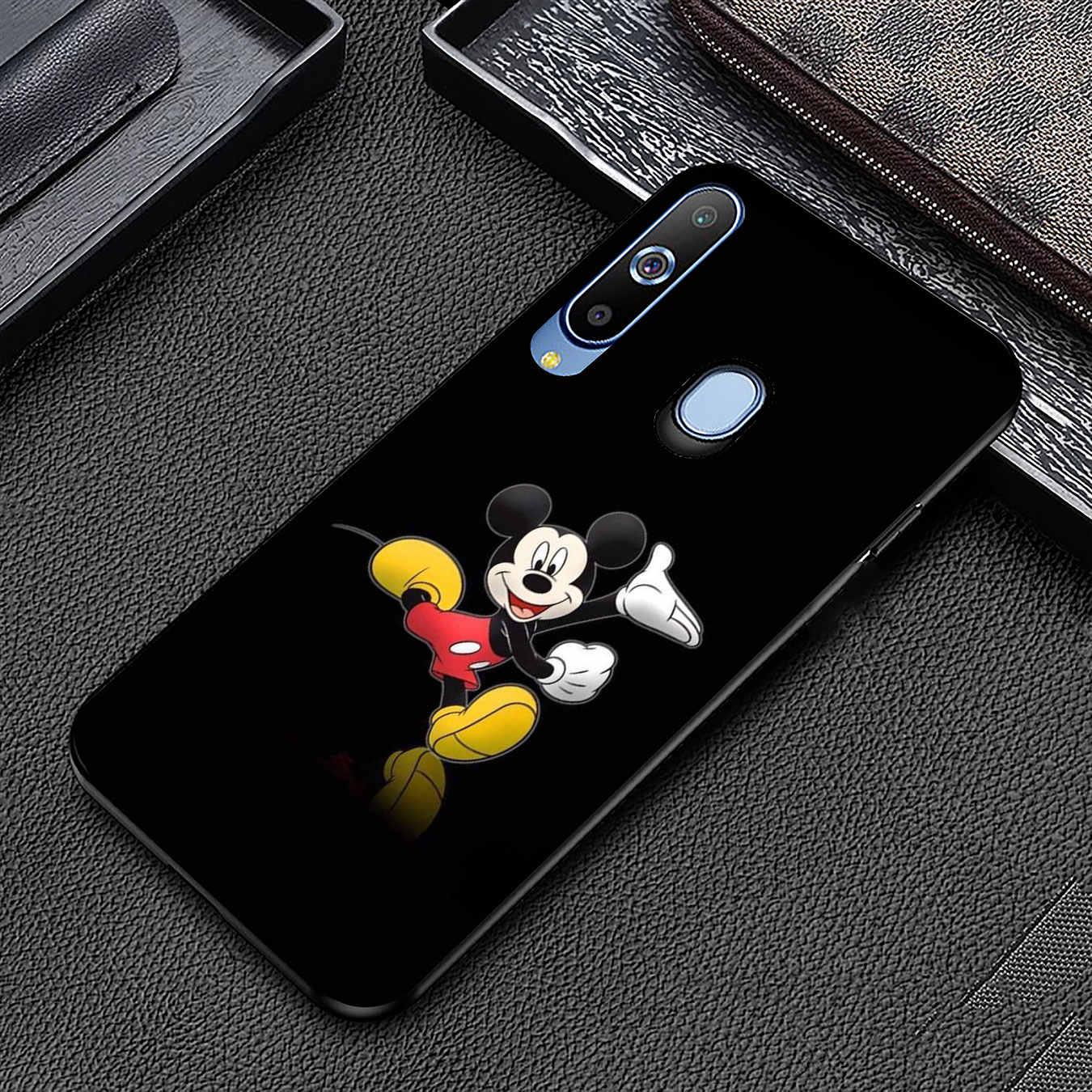 Мягкий силиконовый чехол с Микки Маус для samsung Galaxy A70 A60 A50 A40 A30 A20 A10 M10 M20 M30 M40