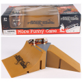 SK-D Arc & Plane Slope Finger Skateboard Park Ramp & Fingerboard Parts for Tech Deck & Finger Board Stage Property