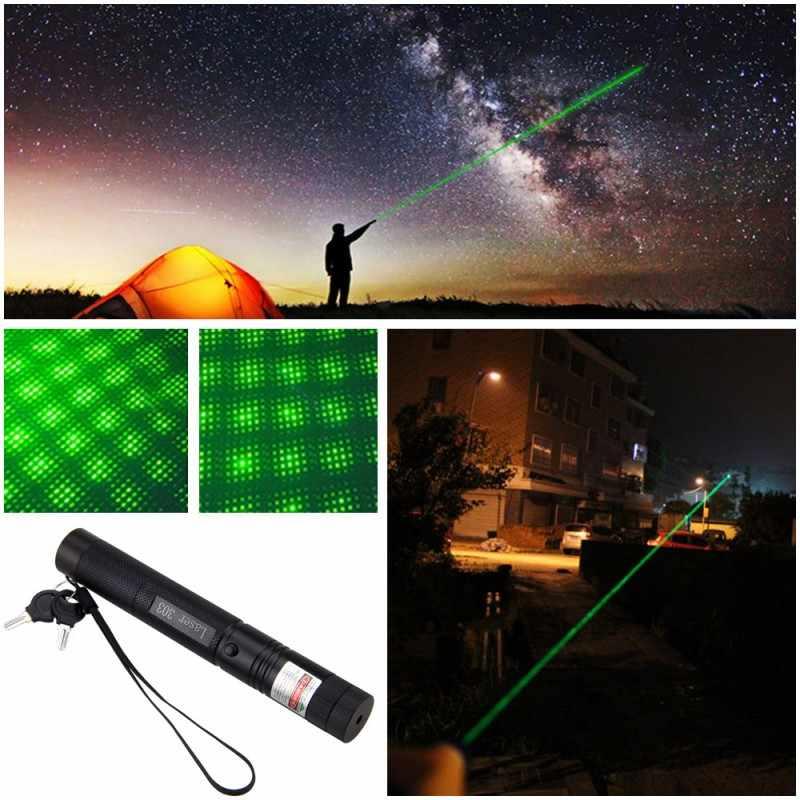 10 милей военный зеленый/красный/фиолетовый 5 мВт 532 Нм лазерная указка ручка светильник Видимый луч сжигание мощное устройство Регулируемый фокус Lazer