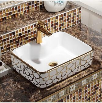 Ordinaire Wei Yu The Stage Basin Square European Sinks Hands Pool Toilet Lavabo Art  Basin  In Bathroom Accessories Sets From Home U0026 Garden On Aliexpress.com |  Alibaba ...