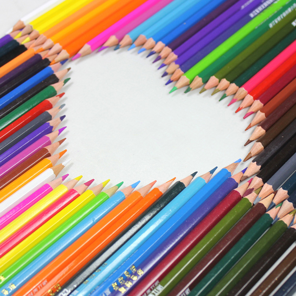36 Colors Drawing Pencil Set Non-toxic Colored Pencils with Case Wax Pencils for Art School Stationery Christmas Gifts 8