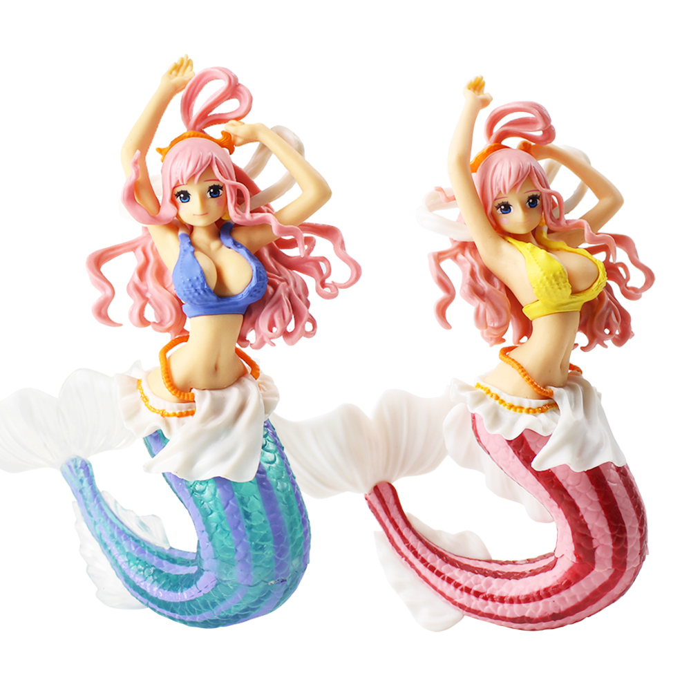 16cm One Piece Creator <font><b>x</b></font> Creator Princess Shirahoshi <font><b>Sexy</b></font> Fish Girl Figurine PVC Figure Toys Model Collection Dolls For Gift image