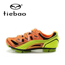 Tiebao Professional Men Mountain Bike Shoes Self-Locking Bicycle Cycling Shoes MTB Training Sports Shoes zapatillas ciclismo