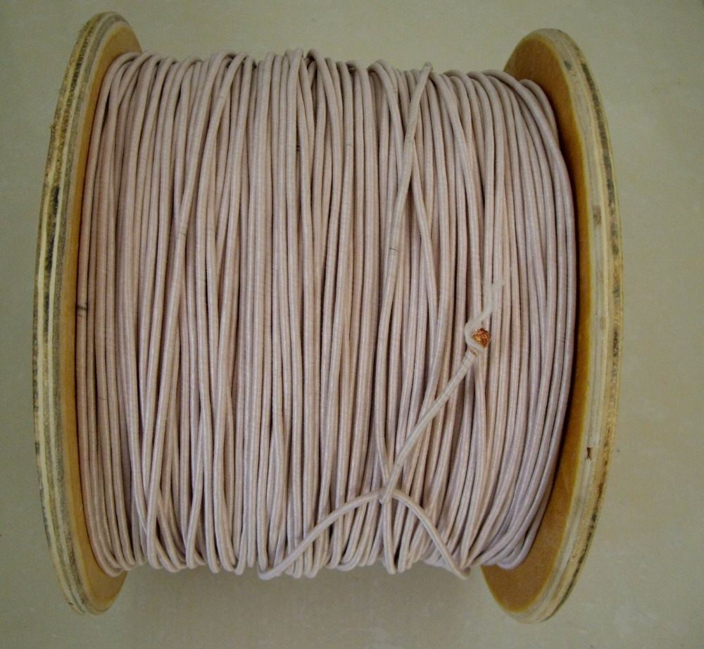 (5metes/lot) 0.1mm*1800 Strands Mine Antenna Litz Wire Multi strand Polyester Silk Yarn Envelope Braided Copper Cable-in Wires & Cables from Lights & Lighting    1