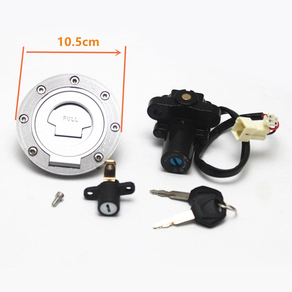 Bouchon de gaz interrupteur d'allumage de moto clé de verrouillage de réservoir de gaz pour moto Yamaha