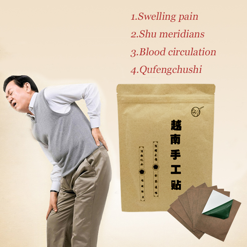 20pcs Chinese Herbal Medical Plaster Tiger Balm Pain Relief Stickers Arthritis Joint Pain Rheumatism Shoulder Pain Relief Patch