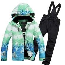 New Brand Snowboard Jackets Ski Suit Super Warm Breathable Thickened Men Women Ski Jacket Ski Pants Sport Ski Set
