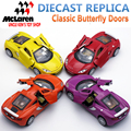 15Cm Length 1/32 Scale McLaren Diecast Model, Alloy Toy, Metal Cars For Kids With Opeanable Doors/Pull Back Function/Music/Light