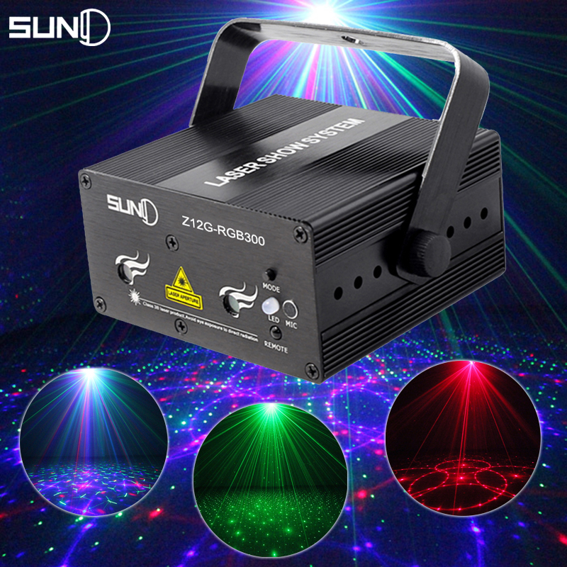 buy mini rgb laser light show projector portable home party disco lights luces. Black Bedroom Furniture Sets. Home Design Ideas