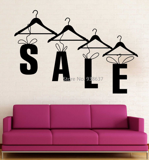 Sale Shopping Wall Art Decal Living Room Decoration Vinyl Wall ...
