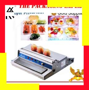 Machine de cachetage de Film d'accrochage d'acier inoxydable nourriture Fruit légume viande de poisson frais emballage sous Film scellant outil d'emballage Super marché