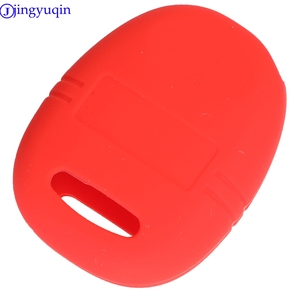 Image 4 - jingyuqin 3B Remote Car Key Silicone Cover Case For Saab 9 3 9 5 1999   2009 Holder Styling