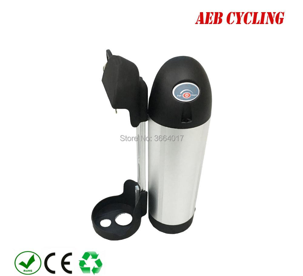 Livraison gratuite pour L'UE NOUS 250 w 350 w 500 w 36 v 13Ah 14.5Ah 16Ah 16.5Ah 17Ah 17.5Ah Li-ion ebike bouteille batterie pour vélo électrique
