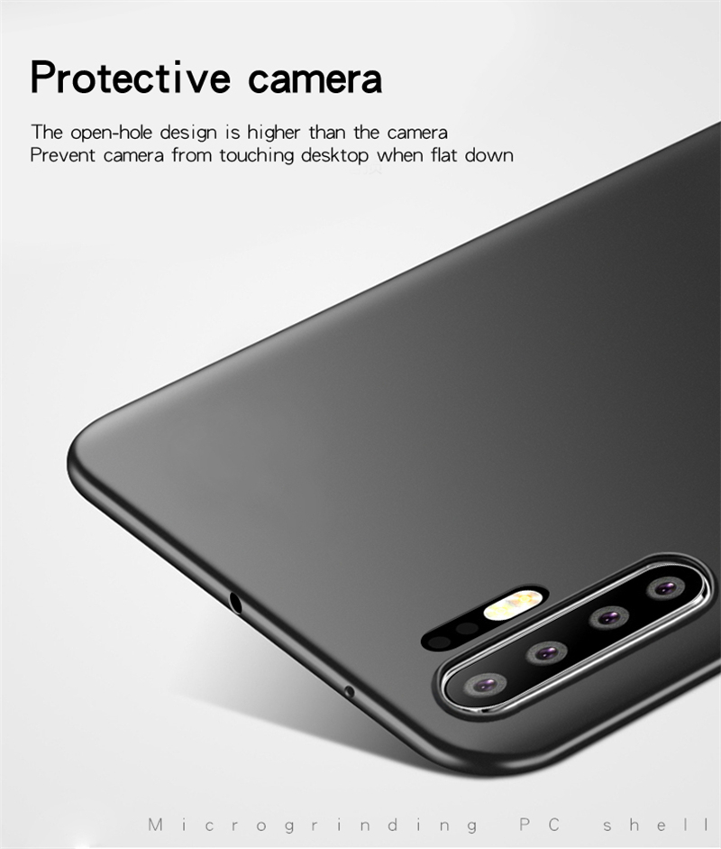 For Huawei P30 Pro Case Cover Ultra Thin PC Slip Protective Hard Case For Huawei P30 Pro Cover For Huawei P30 Pro Case in Half wrapped Cases from Cellphones Telecommunications