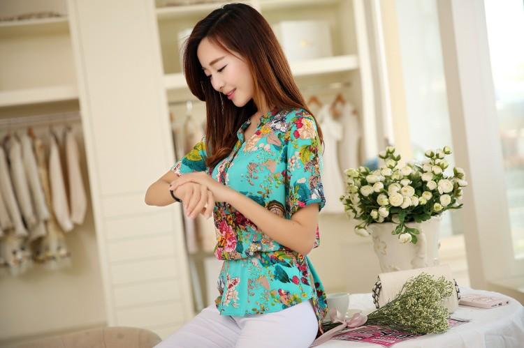 HTB1.tCgNXXXXXc9aXXXq6xXFXXXt - 2016 high quality Summer style Kimono blouses top Plus size XS-5XL