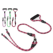 Pet Harnesses small Leads Medium dog Double head Traction rope Anti-winding detachable Leashes Dog chain Supplies product
