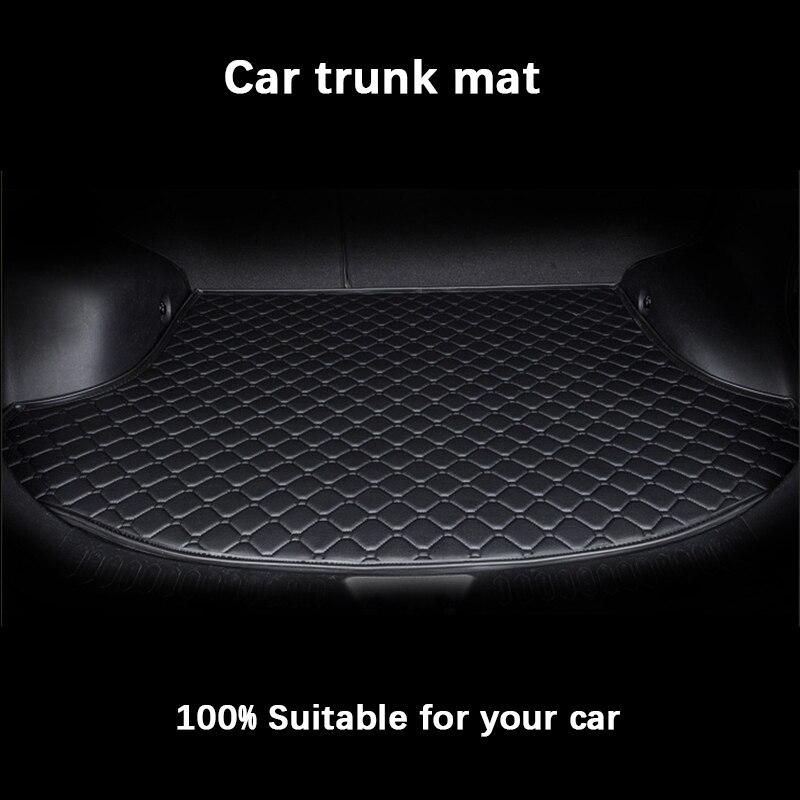 car trunk mats for Ford escort fiesta mondeo Focus Fiesta Edge Explorer Taurus S-MAX F150 Everest mustang  Custom Cargo Liner