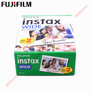 Image 4 - Brand New Fujifilm Instax Largo Film Plain Bordo Twin Pack (20 Foto) per Instant Photo Camera Instax 200 210 di Trasporto Libero