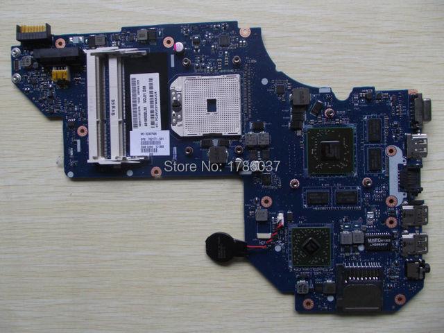 Envío libre 702177-501 qcl51 la-8712p para hp envy m6 m6-1000 series motherboard hd7670m/2g. todas las funciones 100% totalmente probado!