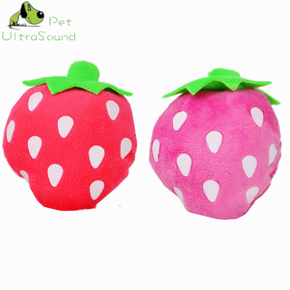 ULTRASOUND PET Dog Toys Pet Puppy Chew Squeaker Squeaky Plush Sound Fruits Vegetables Feeding Bottle Toys 13 Designs Dog Toys in Dog Toys from Home Garden