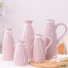 Nordic Ceramic Vase decor for Home Furnishing Modern living Room Decor Hydroponic container Decoration
