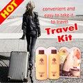 Regalos de navidad 2 unids viajes pelo de aceite de argán y acondicionador Hidratante cabello envío gratis