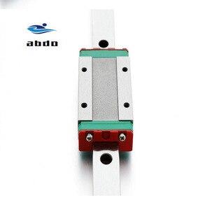 Image 4 - Высокое качество 2 шт. MGN12H MGN12C линейный подшипник скольжения блок совместим с MGN12 линейная направляющая для cnc xyz diy гравировальный станок