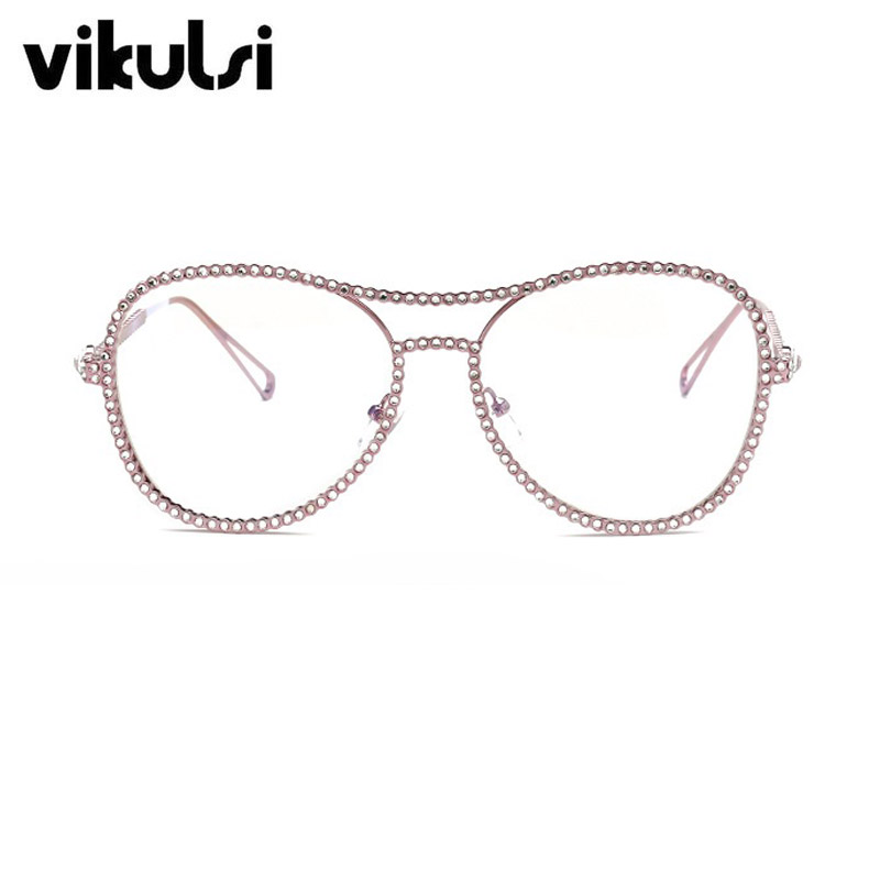Oversized Clear Glasses 2017 New Famous Brand Design Transparent ...
