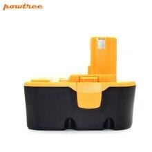 POWTREE 2000mAh 18V NI-MH Battery Replace for Ryobi P100 P101 ABP1801 ABP1803 BPP1820 BRY1804 BCP1817 L10