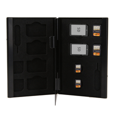 Protector Case-Holder Storage-Box Sim-Cards Micro-Nano 14-In-1 Pin Aluminum-Sim Durable