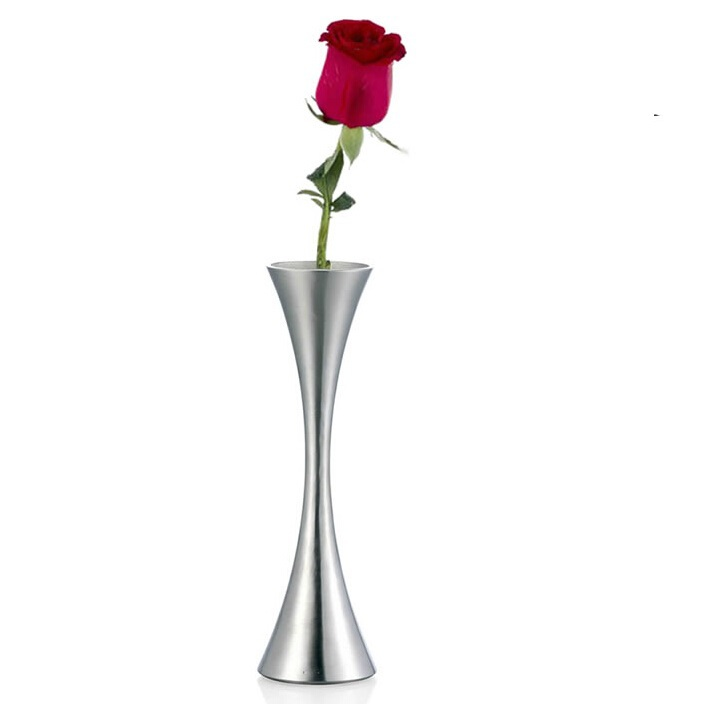 online buy wholesale steel vase from china steel vase wholesalers. Black Bedroom Furniture Sets. Home Design Ideas