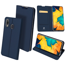 Original Dux Ducis Pu Leather Case For Samsung Galaxy A10 A30 A50 Coque Luxury Thin Flip Cover Cases