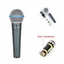 Трансформаторы! этикетка! перепродажи! beta качество! караоке sound проводной clear микрофон лучшее