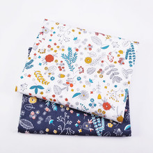 50X160CM цветочные серии Саржа хлопок ткань,пэчворк ткань,DIY швейные лоскутное жира четверти материал для домашнего текстиля
