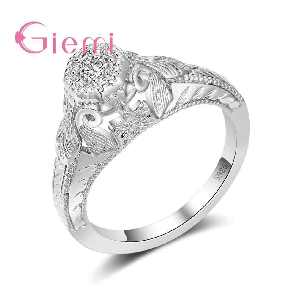 New Arrival Charm Trendy Cool Jewelry Rings 925 Sterling Silver Ladies Rings Best Gifts For Friends Mother Women Partner