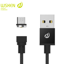 WSKEN Micro USB Cable for SAMSUNG HUAWEI XIAOMI Round Magnetic Charger Mobile Phone Cables for Micro USB Devices USB Cable
