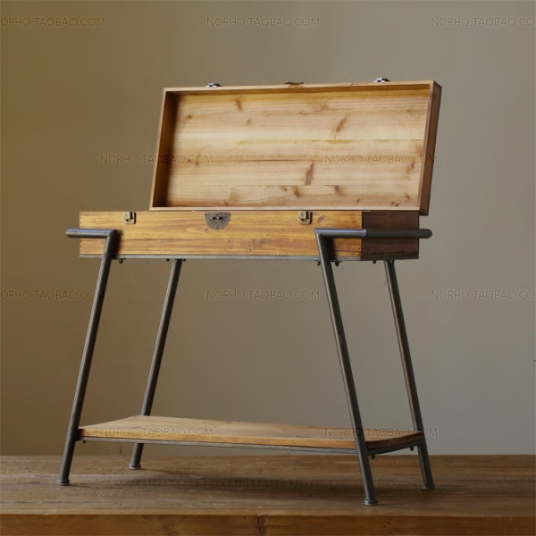 industrial wood furniture. Delighful Industrial LOFT American Country Furniture Japanese MUJI Industrial Wood Side  Table Drawer Cabinet Shoe Rack Storage Throughout Industrial Wood Furniture
