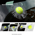 3D Bola Etiqueta Da Janela Do Carro para Subaru Forester XV Outback Legado Tribeca Impreza WRX BRZ SVX