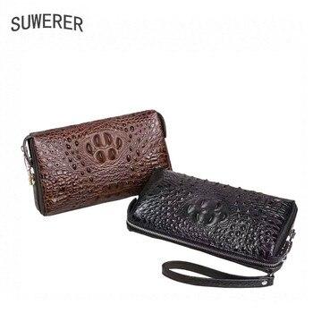 Echtes Leder Männer Brieftasche Für Männer 2018 Neue Luxus Herren Brieftasche Männer Taschen Designer Leder Männer Geldbörsen Und Handtasche