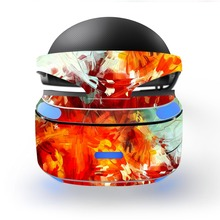 colorful decal PSVR Skin Sticker for Sony Playstation PS VR Headset