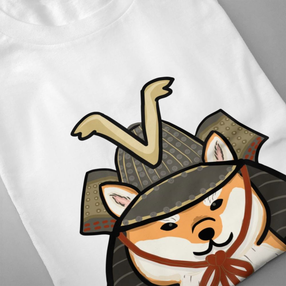 For Men Shiba Inu Cute Animal t shirt Casual New Arrivla Tee Shirt Rock Roll Camiseta Round Collar S 6XL Big Size Camiseta in T Shirts from Men 39 s Clothing