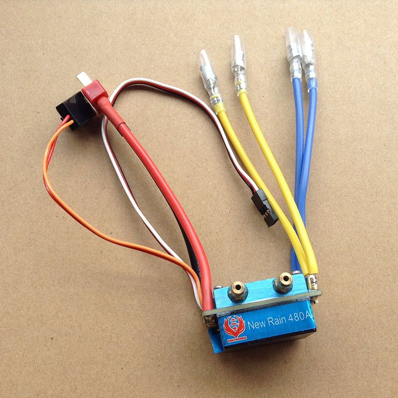 1PC Dual Way Bidirectional 480A ESC 2S-4S Lipo Brushed ESC Forward/Reverse Speed Controller for RC Jet Bota 550/775 Motors derick sule radiographer role extension way forward among ghanaian radiographers