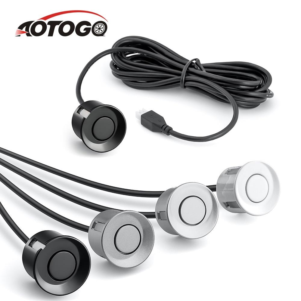 1 Piece Parking Parrotron For Car Auto Car Parking Sensor Kit Reverse Radar Sound Alert Indicator Probe System For Car Security