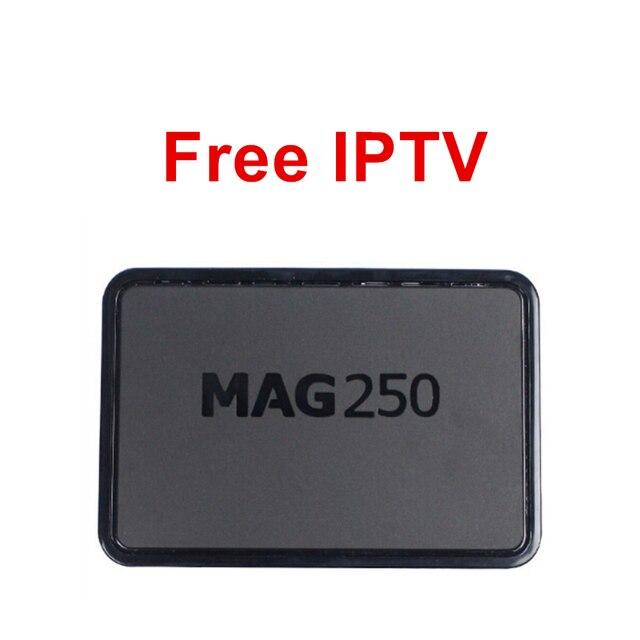 Free IPTV MAG250 Tv Box Denmark Spain UK USA Turkey Estonia Switzerland Greek Latino Sweden France Australia IT MAG 250 Smart Tv