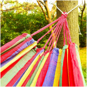 Image 5 - Hot Sale Hammock for 2 persons 200cm * 150cm up to 200 kg Red