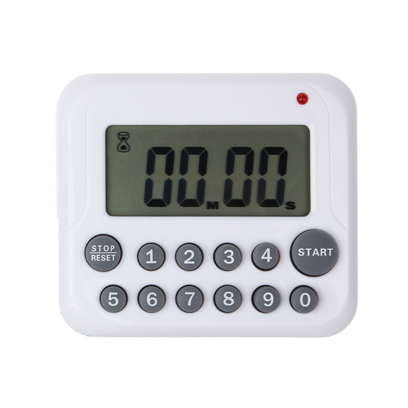 Comfortable life 1pc Timer Digital Large LCD Kitchen Cooking Count Down Up Clock 99 Minute Alarm wholesale free shipping A10
